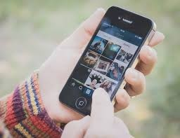 schermata Instagram su smartphone